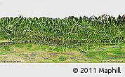 Satellite Panoramic Map of Lumbini