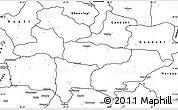 Blank Simple Map of Lumbini
