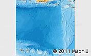 Political Shades Map of Netherlands Antilles