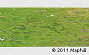 Satellite Panoramic Map of Drenthe