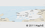 Classic Style Panoramic Map of Friesland