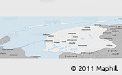 Gray Panoramic Map of Friesland