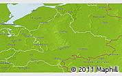 Physical 3D Map of Gelderland