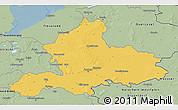 Savanna Style 3D Map of Gelderland