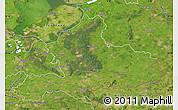 Satellite Map of Gelderland