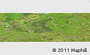 Satellite Panoramic Map of Gelderland