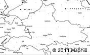 Blank Simple Map of Gelderland