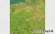 Satellite Map of Groningen
