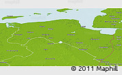 Physical Panoramic Map of Groningen
