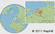 Savanna Style Location Map of Limburg