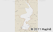 Classic Style Map of Limburg