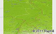 Physical Panoramic Map of Limburg