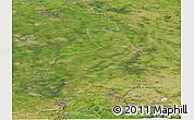 Satellite Panoramic Map of Limburg