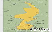 Savanna Style Panoramic Map of Limburg