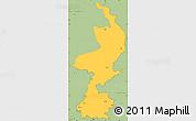Savanna Style Simple Map of Limburg