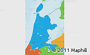 Political Map of Noord-Holland