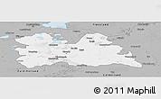 Gray Panoramic Map of Utrecht