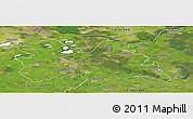 Satellite Panoramic Map of Utrecht