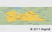 Savanna Style Panoramic Map of Utrecht