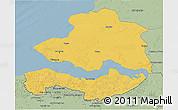 Savanna Style 3D Map of Zeeland