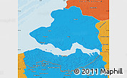 Political Map of Zeeland