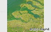 Satellite Map of Zeeland