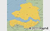 Savanna Style Map of Zeeland