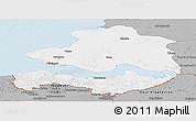 Gray Panoramic Map of Zeeland
