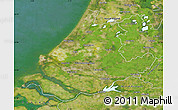 Satellite Map of Zuid-Holland