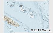 Classic Style 3D Map of Îles Loyauté