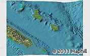Satellite 3D Map of Îles Loyauté