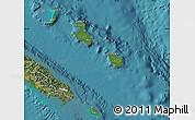 Satellite Map of Îles Loyauté