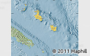 Savanna Style Map of Îles Loyauté
