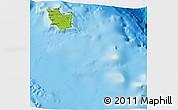 Physical 3D Map of Maré