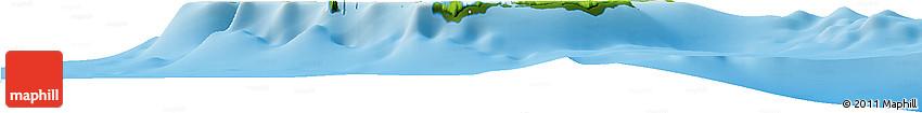 Physical Horizon Map of Ouvéa
