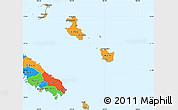 Political Simple Map of Îles Loyauté