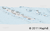 Classic Style Panoramic Map of New Caledonia