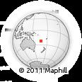 Outline Map of Nouméa