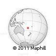 Outline Map of Païta