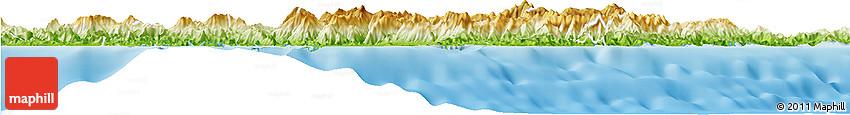 Physical Horizon Map of Thio