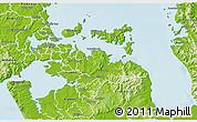 Physical 3D Map of Manukau