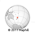 Outline Map of Auckland