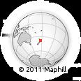 Outline Map of Rotorua
