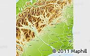 Physical Map of Selwyn