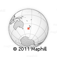 Outline Map of Waitaki