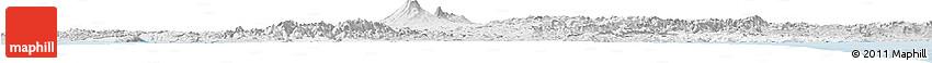 Silver Style Horizon Map of Manawatu-Wanganui