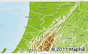 Physical 3D Map of Horowhenua