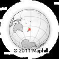 Outline Map of Manawatu