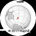 Outline Map of Manawatu-Wanganui