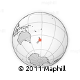 Outline Map of Palmerston North
